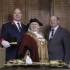 2017-11-26-Ian-Montague - Mayoral group- Faversham Town Council
