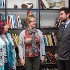 Kent Creative Show #43 - Tuesday 25th April - Myles Corley, gallery director at Linden Hall Studio ; Carol Slater and Karen Ince from the Inspirations Writers Group
