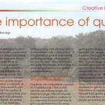 "Kent Women in Business Magazine: ""The Importance of Quality Imagery in your Business"" 