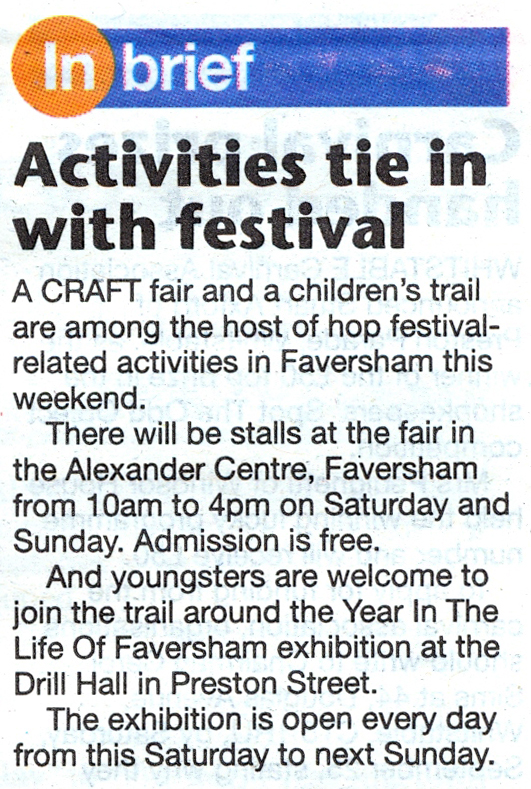 A Year in the Life of Faversham 2010 - In the Media