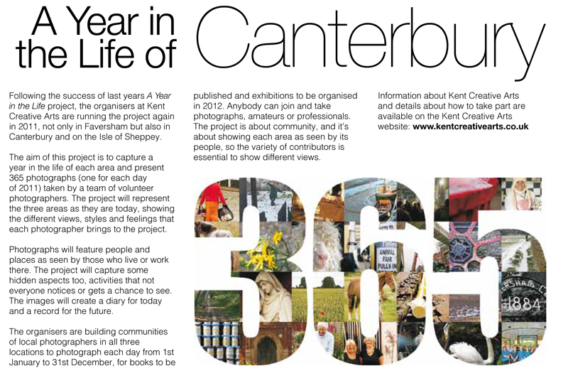 EK One   Issue 11 . March - April 2011   A Year in the Life of Canterbury