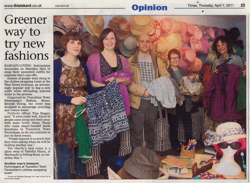 Faversham Times   7th April 2011    A Year in the Life of Faversham