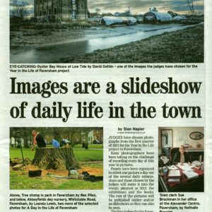Faversham News | 21st April 2011  | A Year in the Life of Faversham