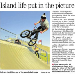 Sheerness Times Guardian | 28th April 2011 | A Year in the Life of Sheppey