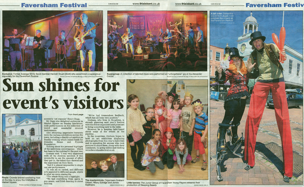 Faversham Times | 30 June 2011 | Featuring photographs from A Year in the Life of Faversham