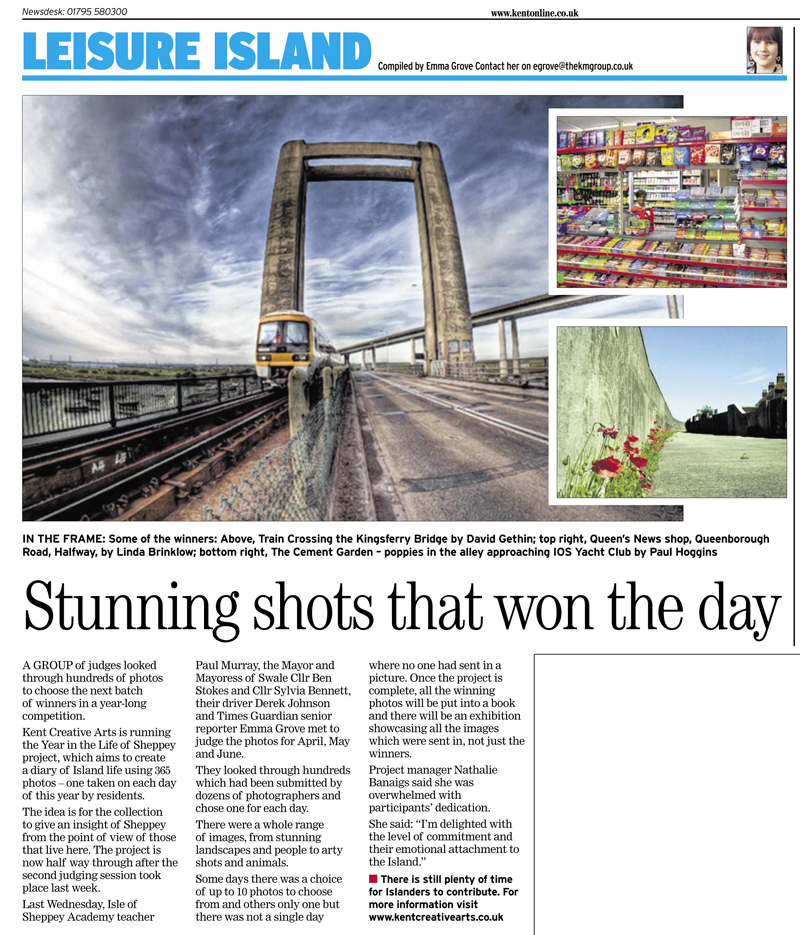 Sheerness Times Guardian   4th August 2011