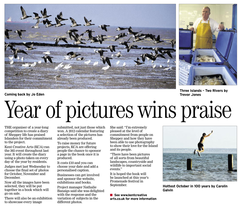 Sheerness Times Guardian   1st February 2012
