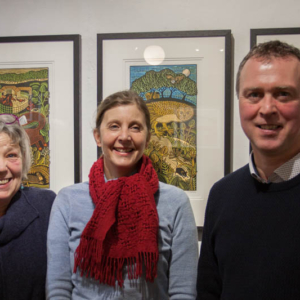 Kent Creative Show #37 – Tuesday 14th March 2017 – David Lilford of Lilford Gallery – Artist Amanda Thesiger – Griselda Mussett